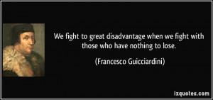 More Francesco Guicciardini Quotes