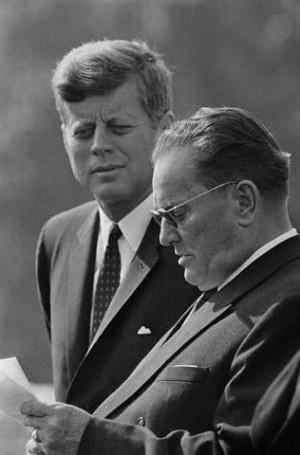 JFK & Marshall Tito