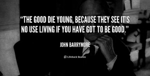 quotes when someone dies young