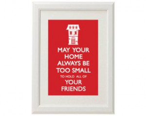 Housewarming Quotes: Wedding Gift, Housewarming Quote, Gift Ideas ...