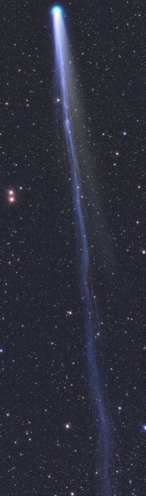 THE LONG TAIL OF COMET LOVEJOY: Next week, Comet Lovejoy makes its ...