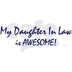 daughter in law is awesome small mug more daughter in law my daughter ...