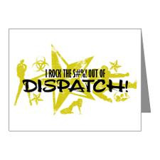 ROCK THE S#%! - DISPATCH Note Cards (Pk of 10) for