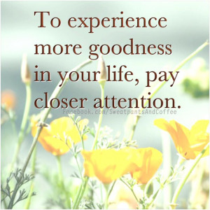 Pay attention. #quotes