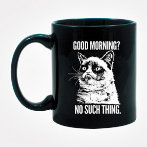Home Animals Cat Grumpy Cat Mug -
