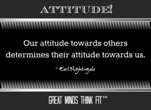 ... others determines their attitude towards us.