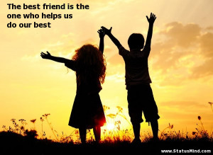 best friend quotes for facebook status