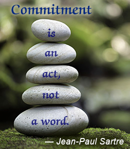 51 Wonderful Commitment Quotes and Sayings