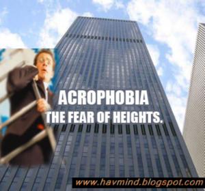 acrophobia dictionary