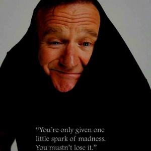 Robin Williams. Love him