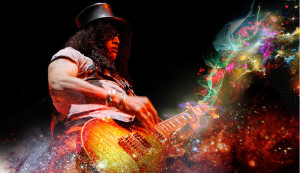 Eminent rock guitarist