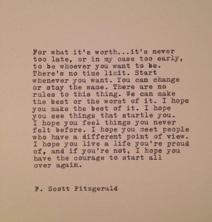 ... Scott, Favorite Quote, Too Late, F Scott Fitzgerald, Fscottfitzgerald