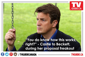 Our Quote of the Night (Sept. 22), courtesy of #Castle!