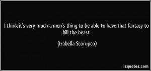 More Izabella Scorupco Quotes