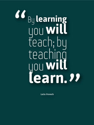 Why It's Important To Teach And Learn
