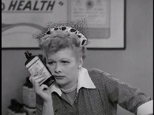 BONUS: I Love Lucy giveaways for the kids!