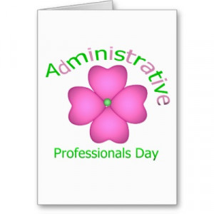 flower_art_administrative_professionals_day_card ...