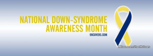 National Down Syndrome Awareness Month Facebook Covers