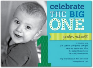 1st birthday invitation wording template