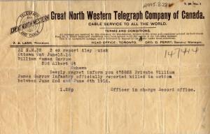 telegram ww1