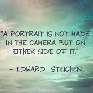 Edward Steichen - #photography #quotes #inspiration #portrait