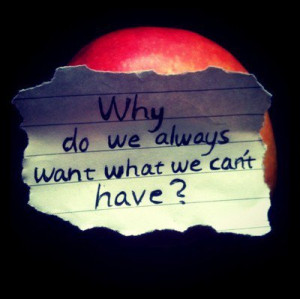want something you cant have quotes | want what you cant have | Tumblr