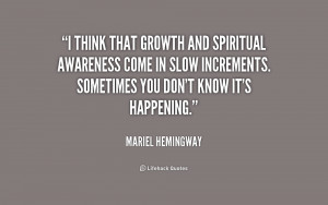 spiritual growth quotes