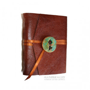 Leather Journal . Anais Nin quote: