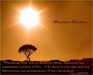 shabbat shalom quotes