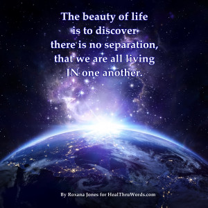 The Illusion of Separation - HealThruWords, Inspirational Quotes