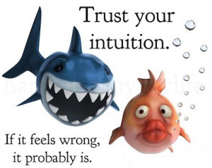 Trust your intuition. If it feels wrong it probably is.