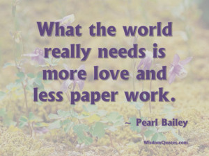 Pearl Bailey Quote - © Jone Johnson Lewis, adapted from an image ...