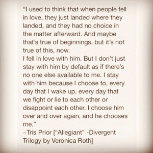 Divergent Movie Tris And Four Quotes Tris & tobias! #divergent