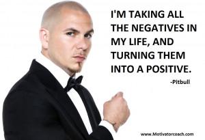 Pitbull Quotes
