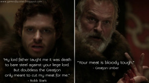 Horrible Father Quotes Robb stark: my lord father