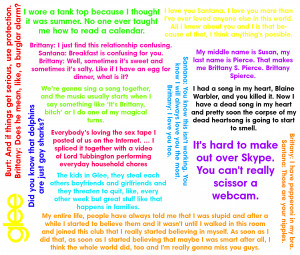 ... Brittany one, I am going to be making a similar one with Finn quotes