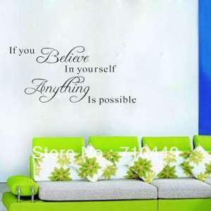 Stay With You]Free shipping 1pc/lot new arrival quote wall sticker