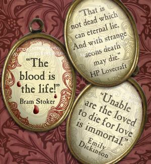 Victorian Goth Vampire Literary Quotes - Lovecraft, Poe, Stoker ...
