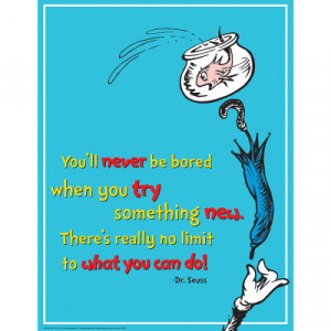 Dr. Seuss™ Try Something New Poster