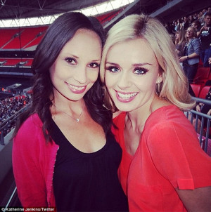 Katherine Jenkins pays tribute to best friend who has died from cancer ...