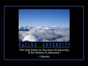 Adversity Inspirational Quotes