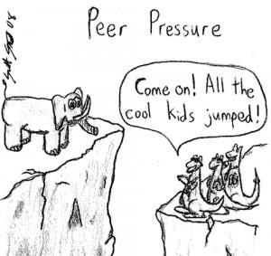 My thoughts on peer pressure