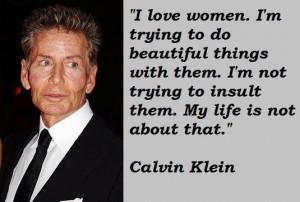 Calvin klein famous quotes 5