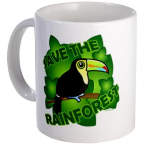 Save The Rainforest Earth Day Tees And Gifts Bags