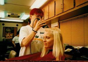 Tank Girl - Lori Petty's haircut
