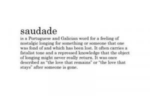 nostalgic, portuguese, quote, saudade, text, typography, words