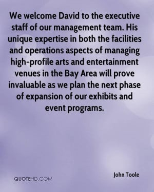 Welcome to Our Team Quotes