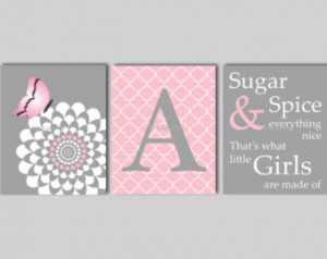 Butterfly Wall Art Sugar and Spice Quote Butterfly Wall Art Butterfly ...