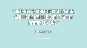 Quotes by La Monte Young