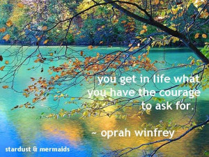 awesome @Oprah quote